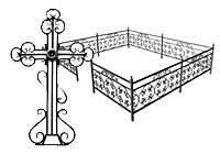 Кованые ограды и кованые кресты
